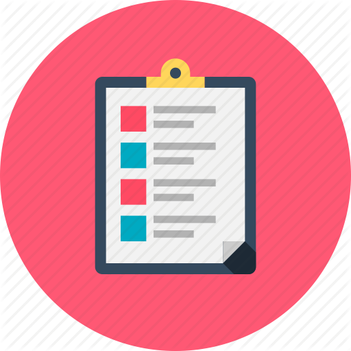 Checklist, Document, Form, List, Memo, Online Checklist, Survey Icon