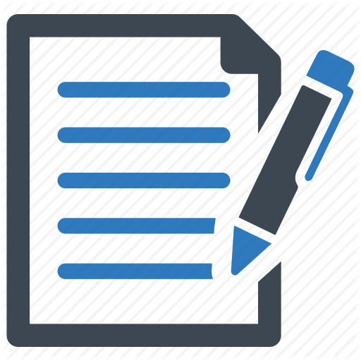 Contract, Feedback, Form Inquiry Icon