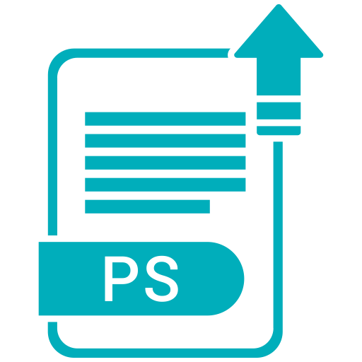 Ps, Formation, Format, Formats, Form Icon