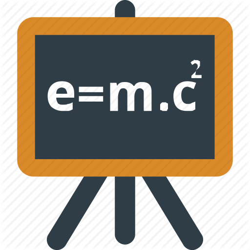 Einstein Formula, Formula, Physics, Scientific Formula Icon Icon