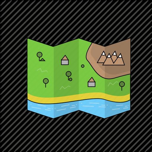 Battle, Fortnite, Game, Map, Pubg, Royale Icon