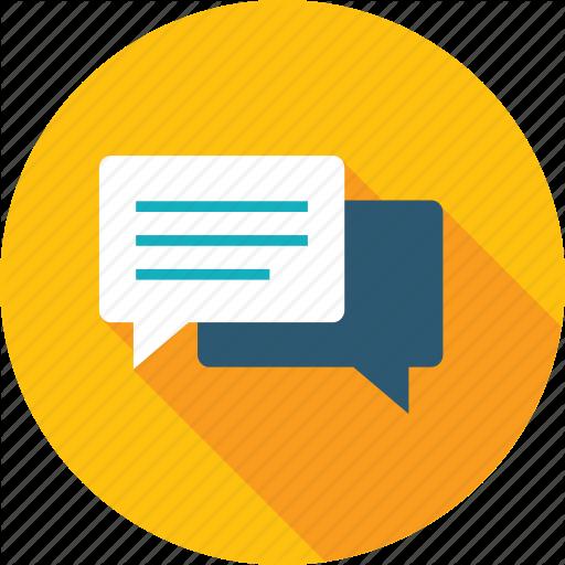 Chat, Communication, Customer, Forum, Review, Testimonials Icon