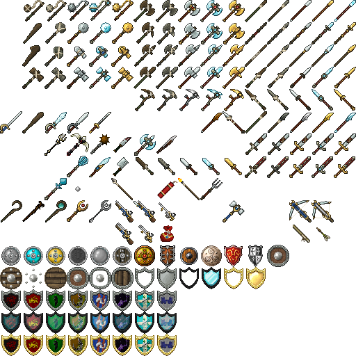 All Of My Weaponsitems!