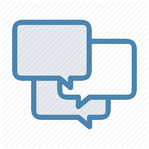 Chat, Dialog, Discussion, Forum, Message, Messenger, Support Icon