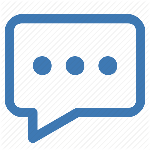 Comment, Discuss, Discussion, Forum, Message, Talk, Write Icon
