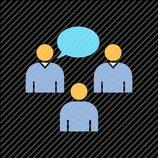 Communication, Corporation, Discusstion, Forum, Group, Talk Icon