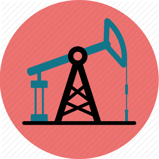 Extraction, Fossil, Fuel, Oil, Petroleum, Production, Pump Icon