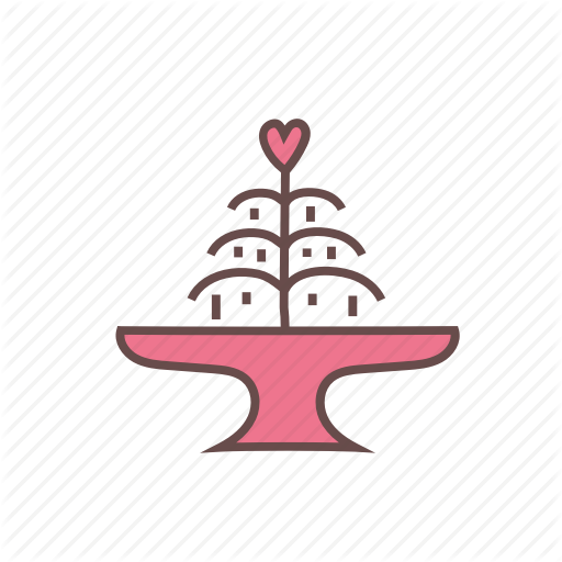 Fountain, Water Icon