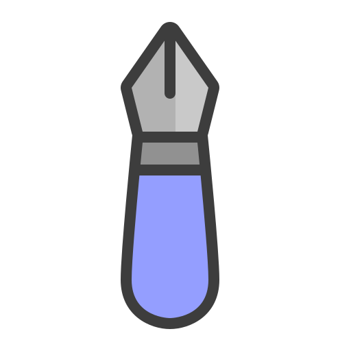 Fountain, Pen Icon Free Of The Art Tools Colored