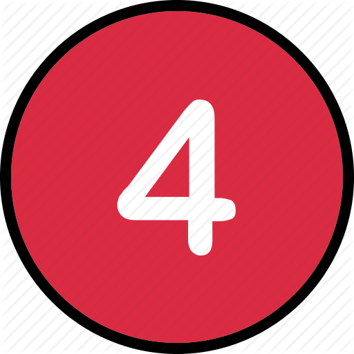 Four, Music, Number, Track Icon