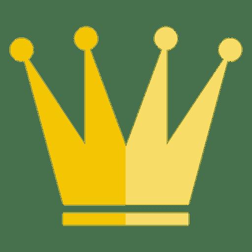 Four Point Crown Icon