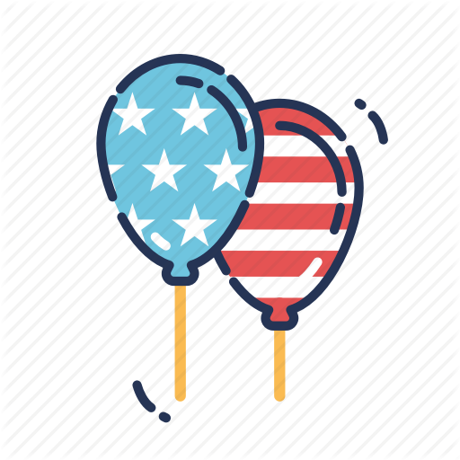 Balloon, Balloons, Celebration, Fourth Of July, Independence Day
