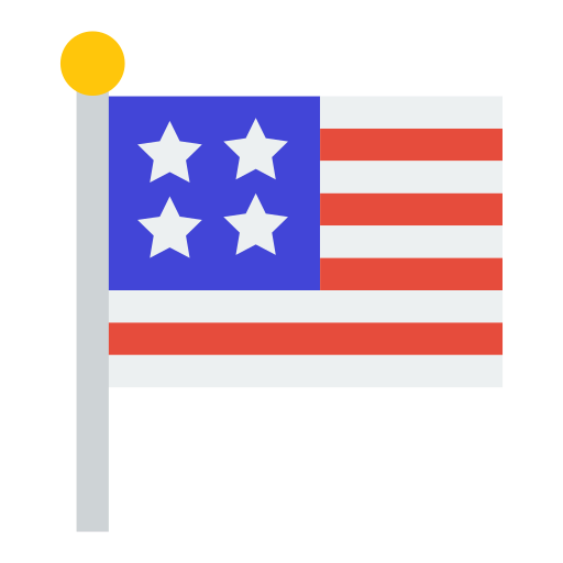 Usa, Flag Icon Free Of Of July Icons