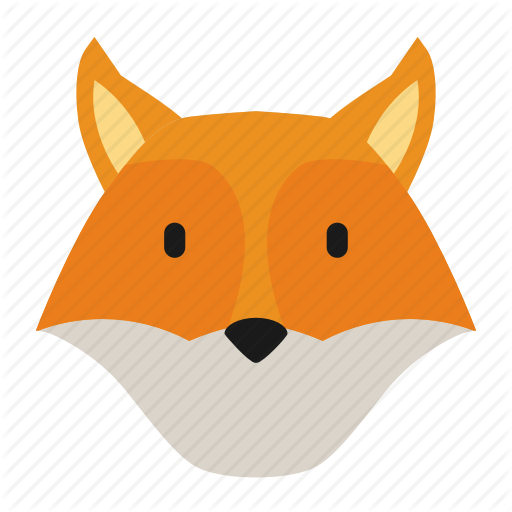 Animal, Forest, Fox Icon