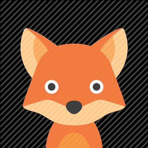 Face, Fox Icon