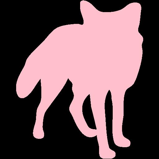 Pink Fox Icon