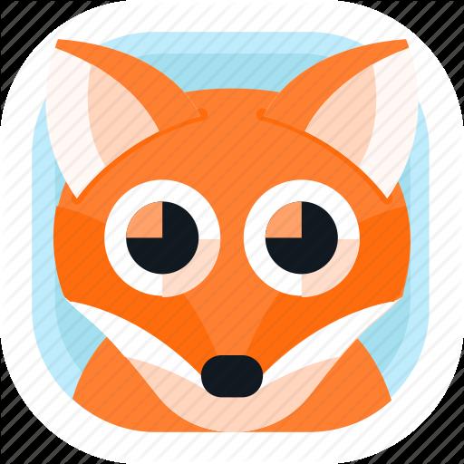 Animal, App, Fox, Pet, Wildlife, Zoo Icon