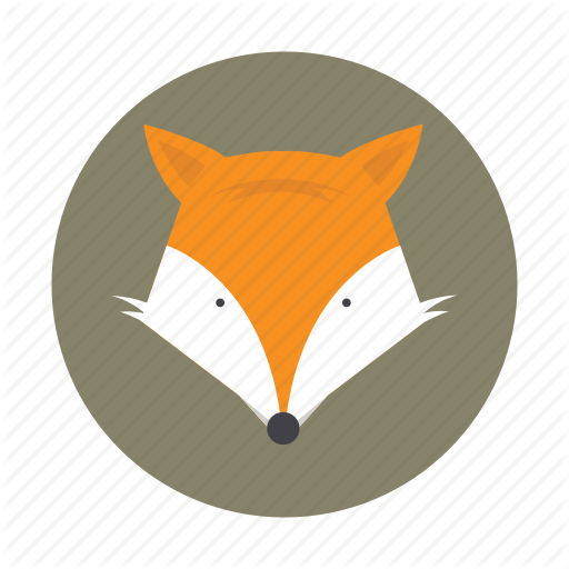Animal, Fox, Jackal, Kids, Wolf Icon