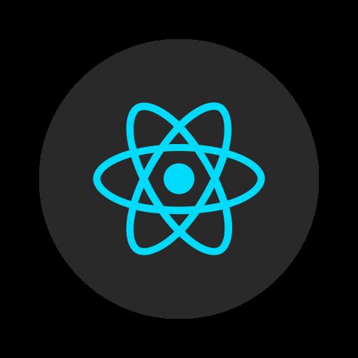 Apps, Facebook, Framework, Mobile, Design, Development, React Icon