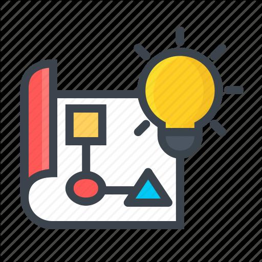 Framework, Idea, Paper, Work, Work Flow Icon