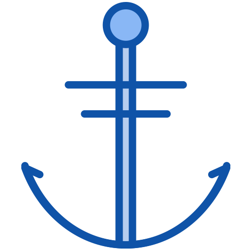 Anchor, Fill, Multicolor Icon Png And Vector For Free Download