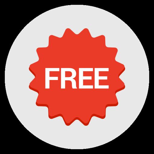 Free, Sales, Badge, Label, Sticker Icon Free Of Flat Design Icons