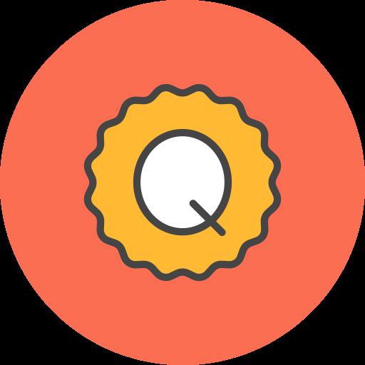 Quality, Badge Icon Free Of Flat Line Ecommerce