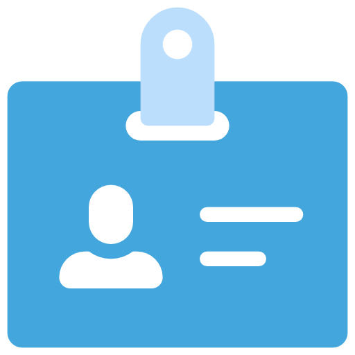 Card, Badge Icon Free Of The Nucleo Flat Business Icons