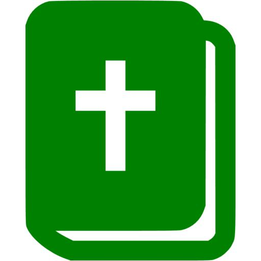 Green Holy Bible Icon