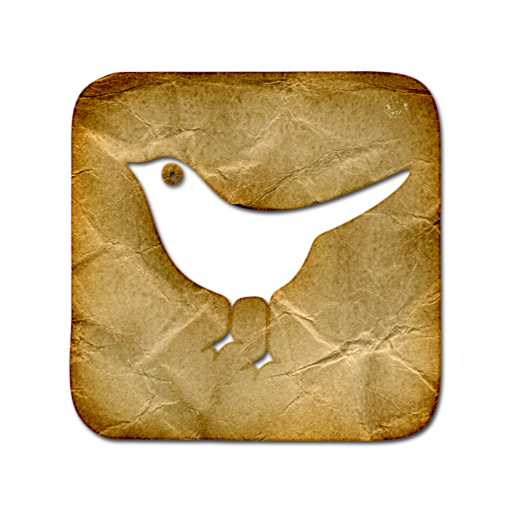 Twitter Square Webtreatsetc Icons, Free Icons In Crumpled