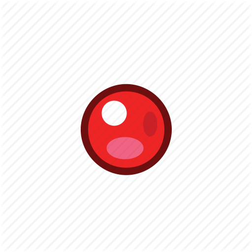 Bullet, Point, Red Icon