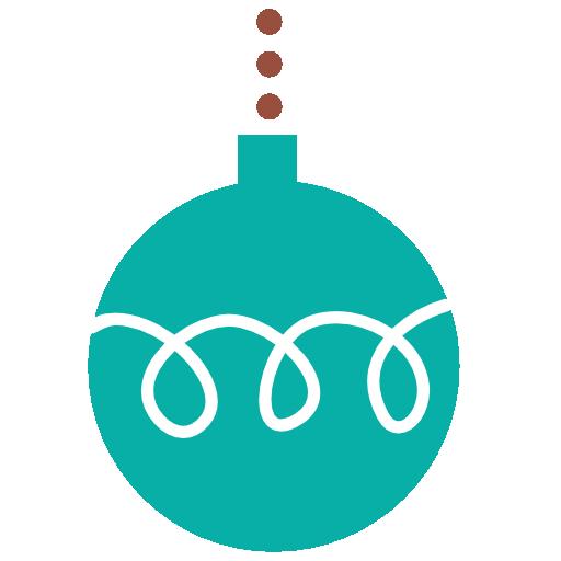 Christmas Ball Icon Flat Christmas Iconset Psdblast