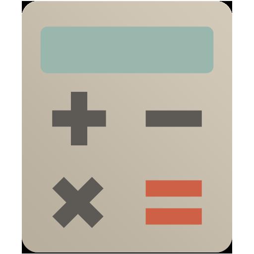 Calculator Icon Flat Retro Modern Iconset Grafikartes
