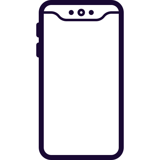 Cell, Iphone, Notch, Phone, Samsung, Smart Icon Free Of Mobile
