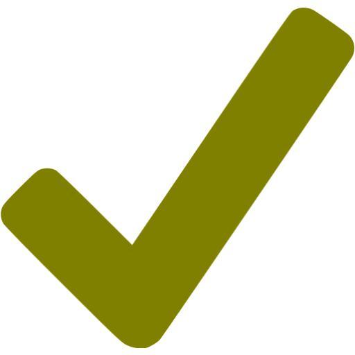 Olive Checkmark Icon