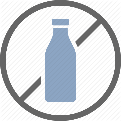 Allergy, Dairy, Dietary, Free, Label, Lactose, Milk Icon