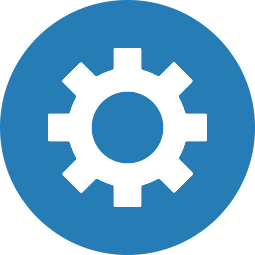 Circle, Cog, Customize, Gear, Preferences, Settings Icon