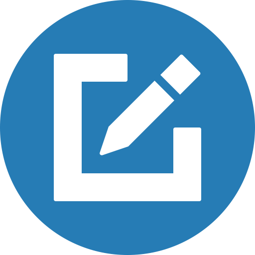 Circle, Compose, Draw, Edit, Write Icon