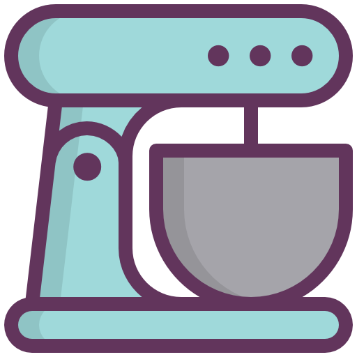 Coffee, Blue, Machine, Cuisine Icon Free Of Kitchen Bold Line