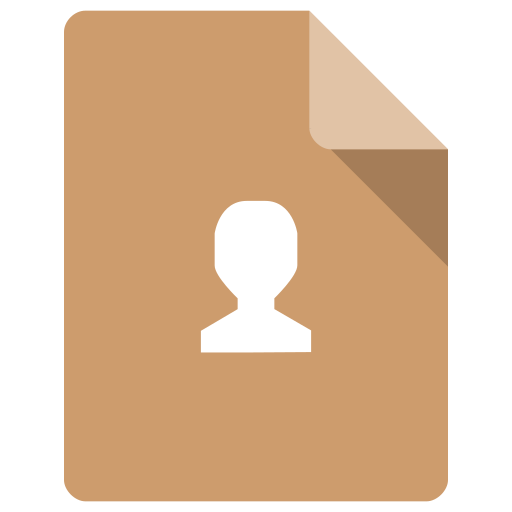 Office, Contact Icon Free Of Super Flat Remix Mimetypes