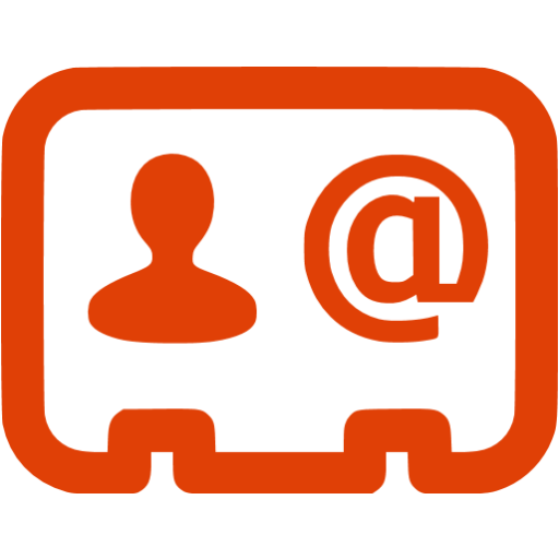 Soylent Red Business Contact Icon