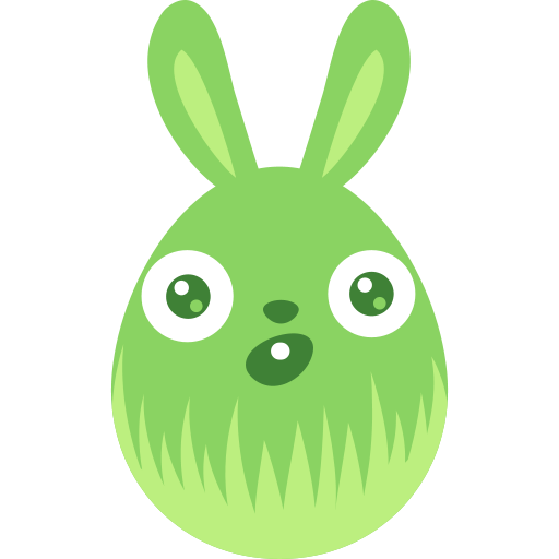 Surprised, Bunny Icon Free Of Easter Egg Bunny Icons