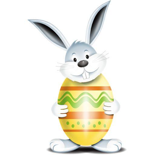 Yellow Bunny Egg Icon, Comes