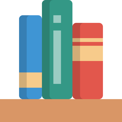 Bookshelf Free Vector Icons Designed