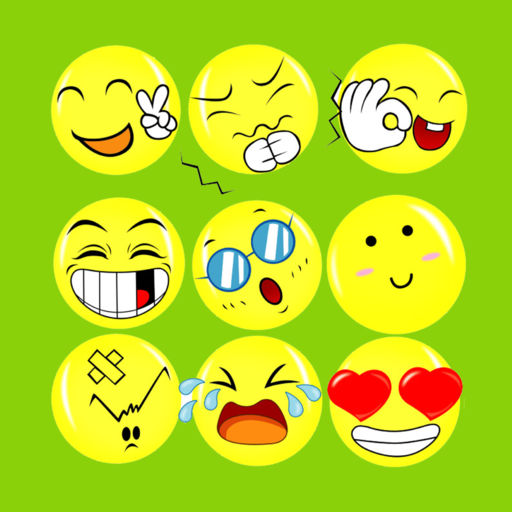 Emoji Emoticons Free + Photo Captions Collage