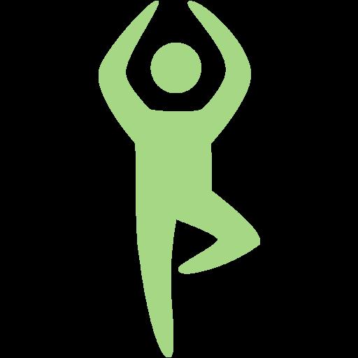 Guacamole Green Yoga Icon