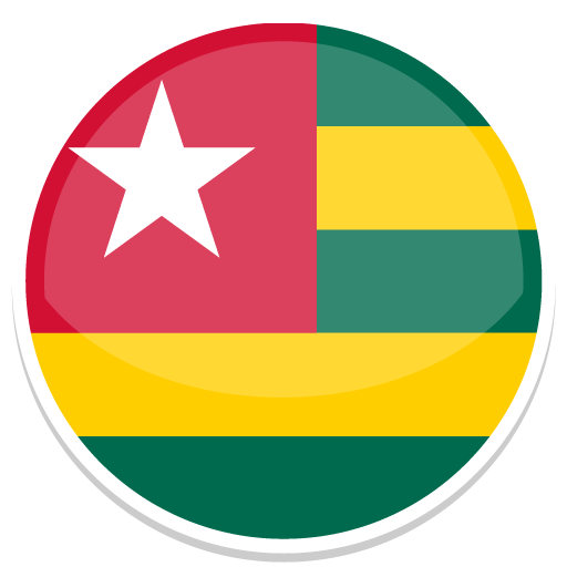 Togo, Flag, Flags Icon Free Of Round World Flags Icons