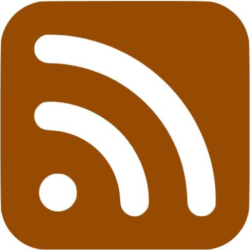 Brown Rss Icon