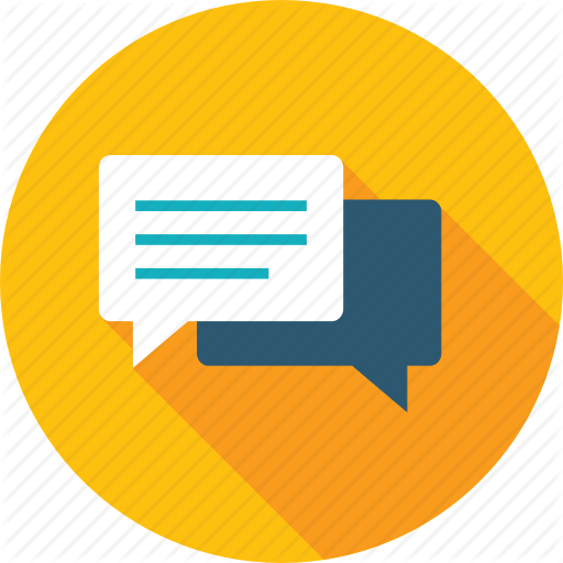 Chat, Communication, Customer, Forum, Review, Testimonials Icon