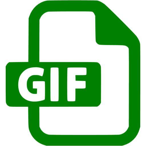 Green Gif Icon